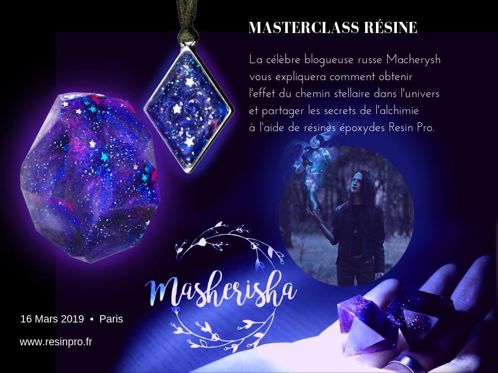 Masterclass Rèsine 6 Heures