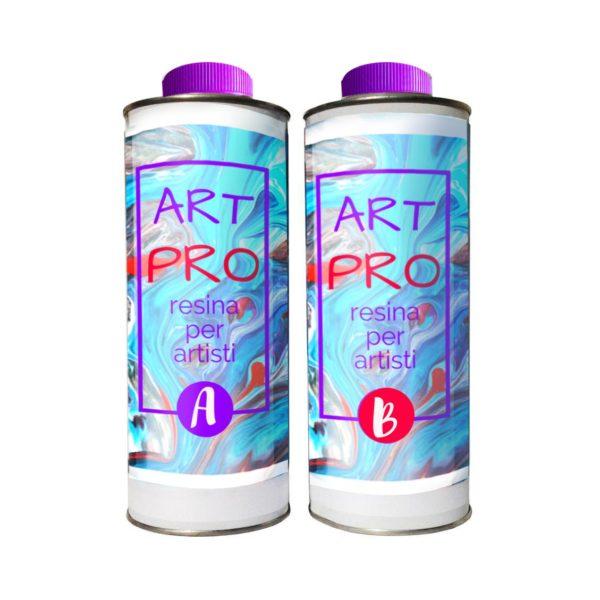 ART PRO RÉSINE TRANSPARENTE POUR LES ARTISTES 1.6 KG