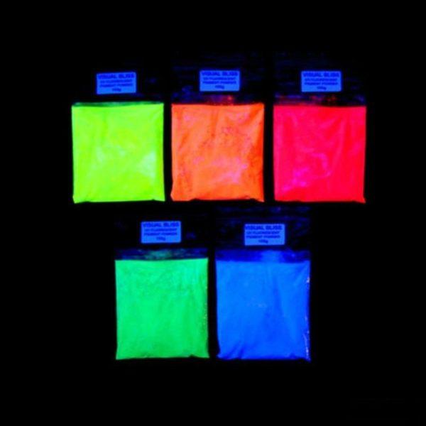 PIGMENT FLUORESCENT UV (Poudre fluorescente)