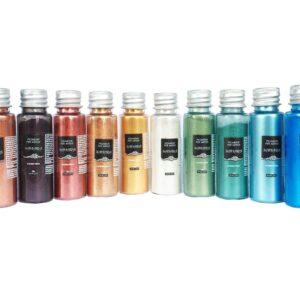 Set SAHARA Pigments Métalliques