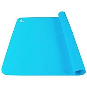 Tapis en silicone (bleu)