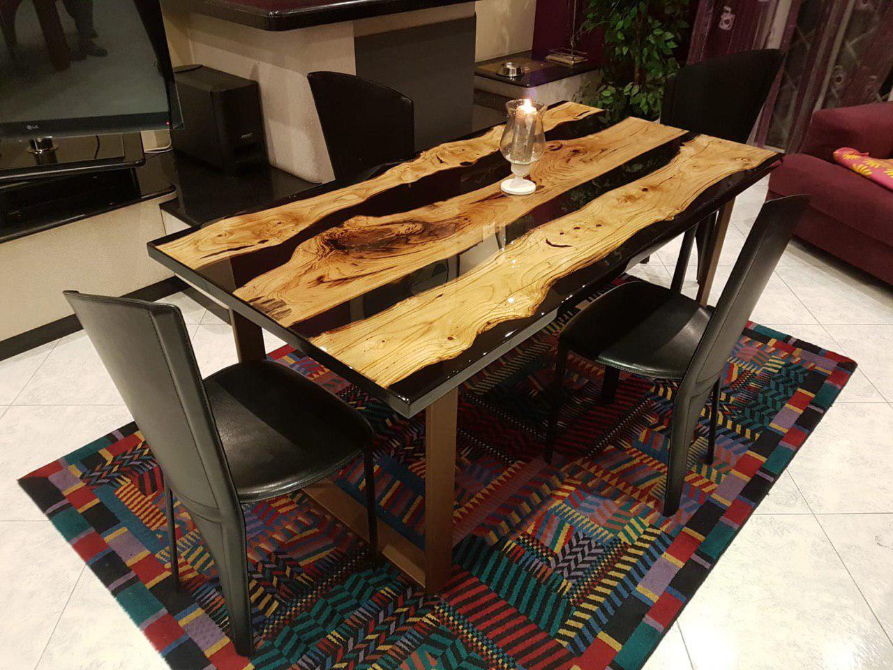 resine epoxy transparente 32kg 64kg 96kg 128kg 160kg pour table bois nautique rev tements. Black Bedroom Furniture Sets. Home Design Ideas