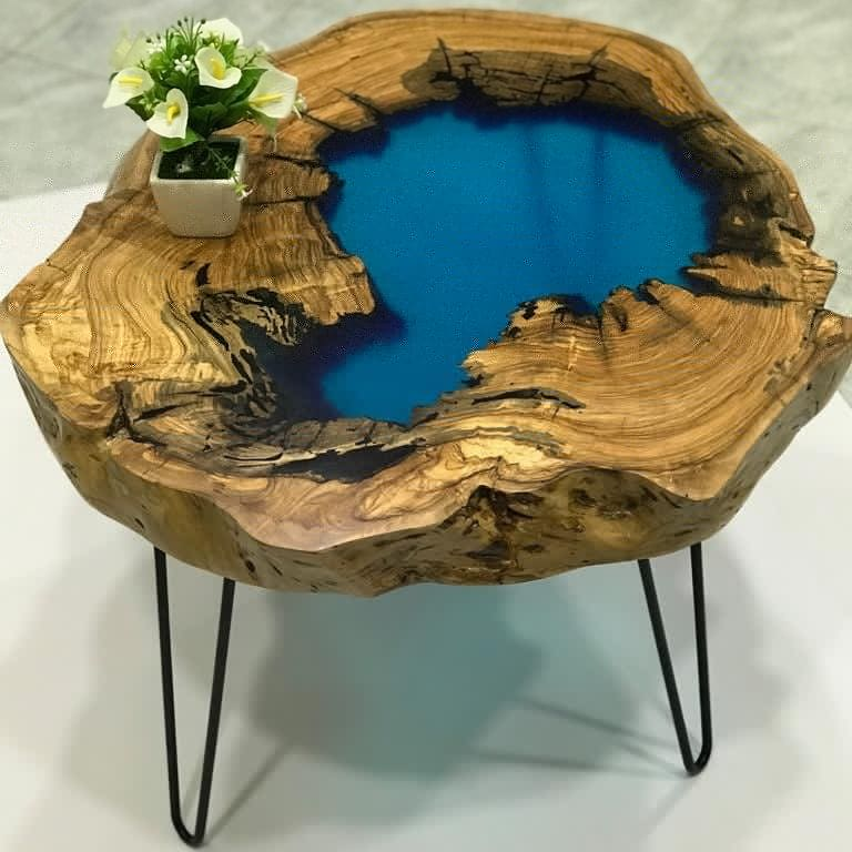 """KIT COMPLET """"EPOXY TABLE 5-FIVE BEGINNER"""" POUR TABLES"""