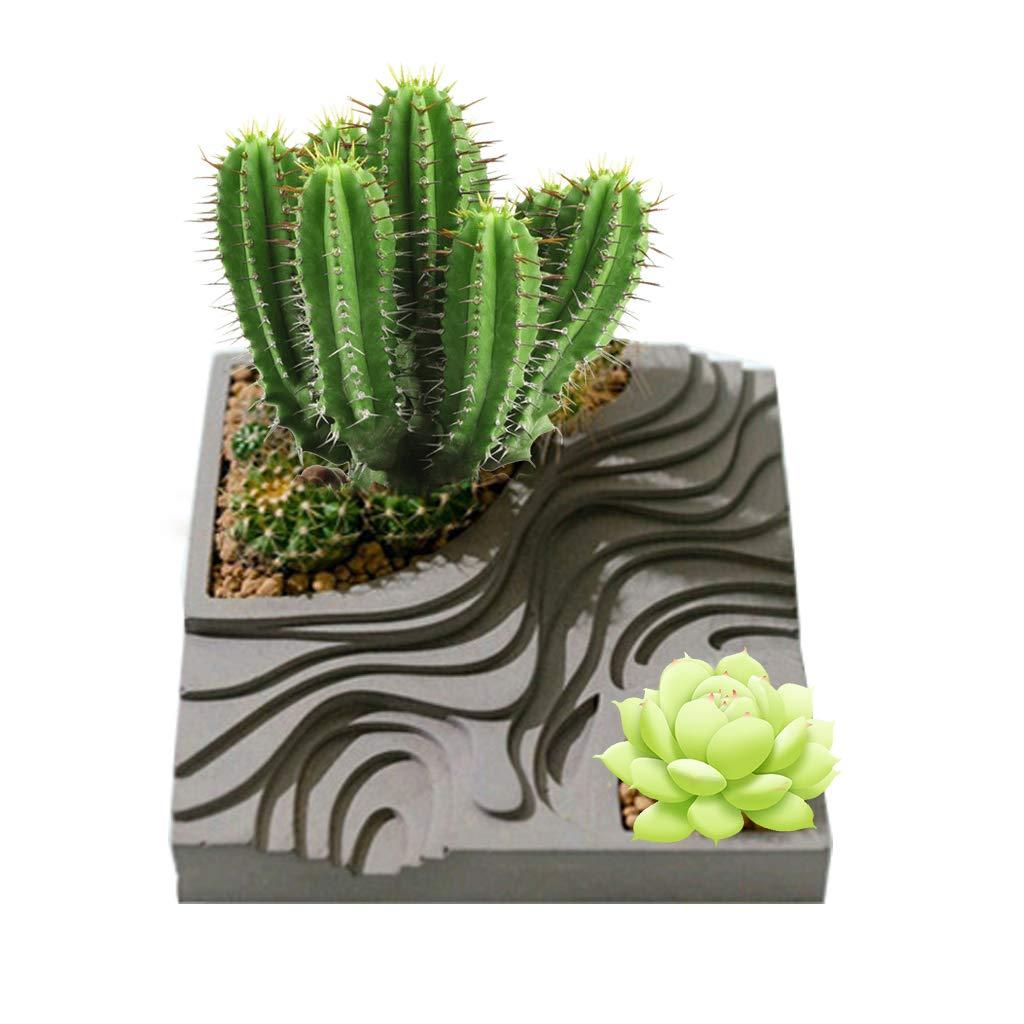 Moule de vase à fleurs, boîte à bijoux rectangulaire