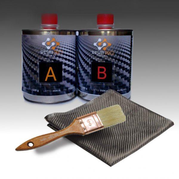 Kit de réparation Résine et Fibre de carbone