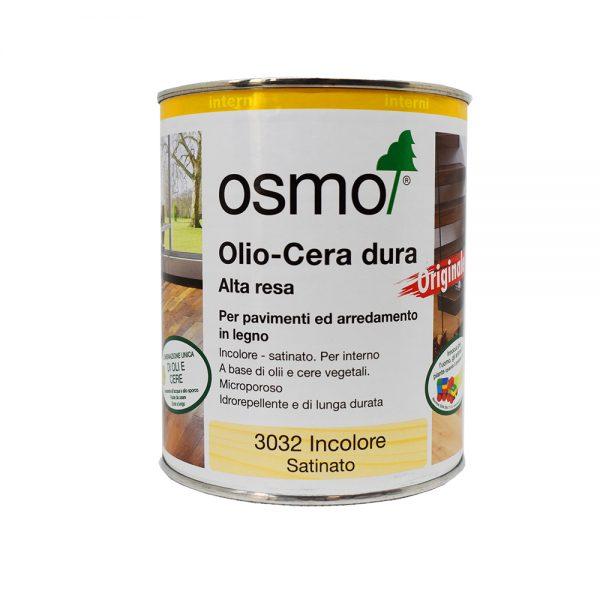 L'huile de cire Osmo pour le polissage