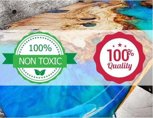 Résines époxy et sécurité : Guide des certificats de non-toxicité et comment éviter d'acheter des résines potentiellement nocives.